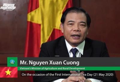 Thông điệp của Bộ trưởng Bộ NN-PTNT Nguyễn Xuân Cường nhân Ngày Chè Thế giới