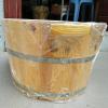 Châu ngâm chân gỗ thông có hạt massage