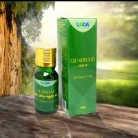 Tinh dầu Ngọc Am nguyên chất - (gỗ Hoàng Đàn) Cedar wood essential Oil(10ml)