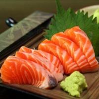 Sashimi Cá Hồi Nhật Bản