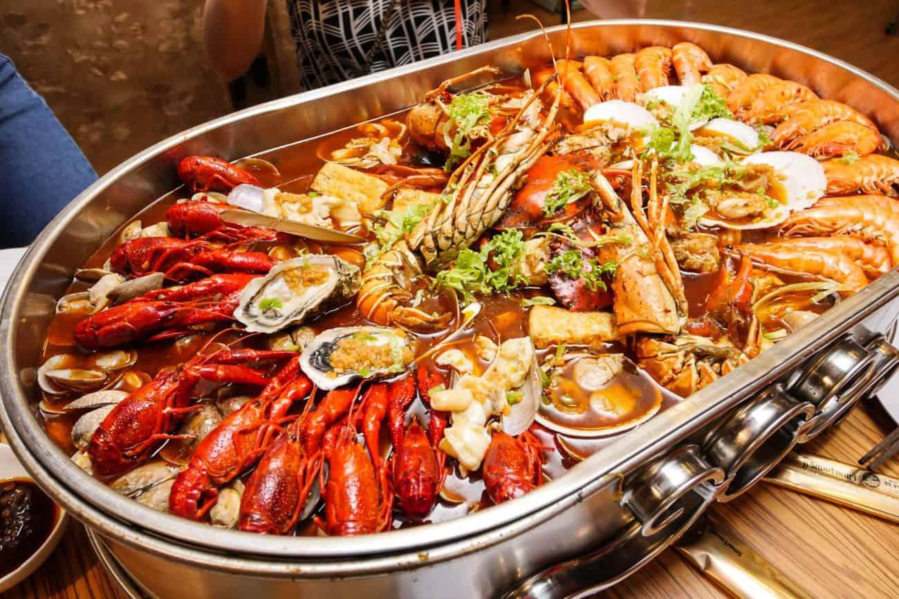 Hải sản Quảng Ninh - Ngọc Việt Garden Thái Nguyên