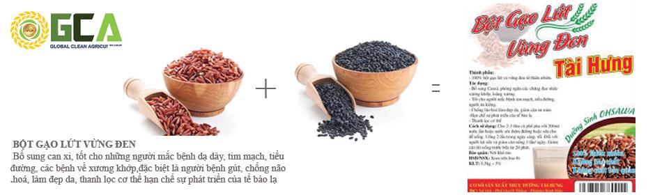 Bột thực dưỡng Tài Hưng