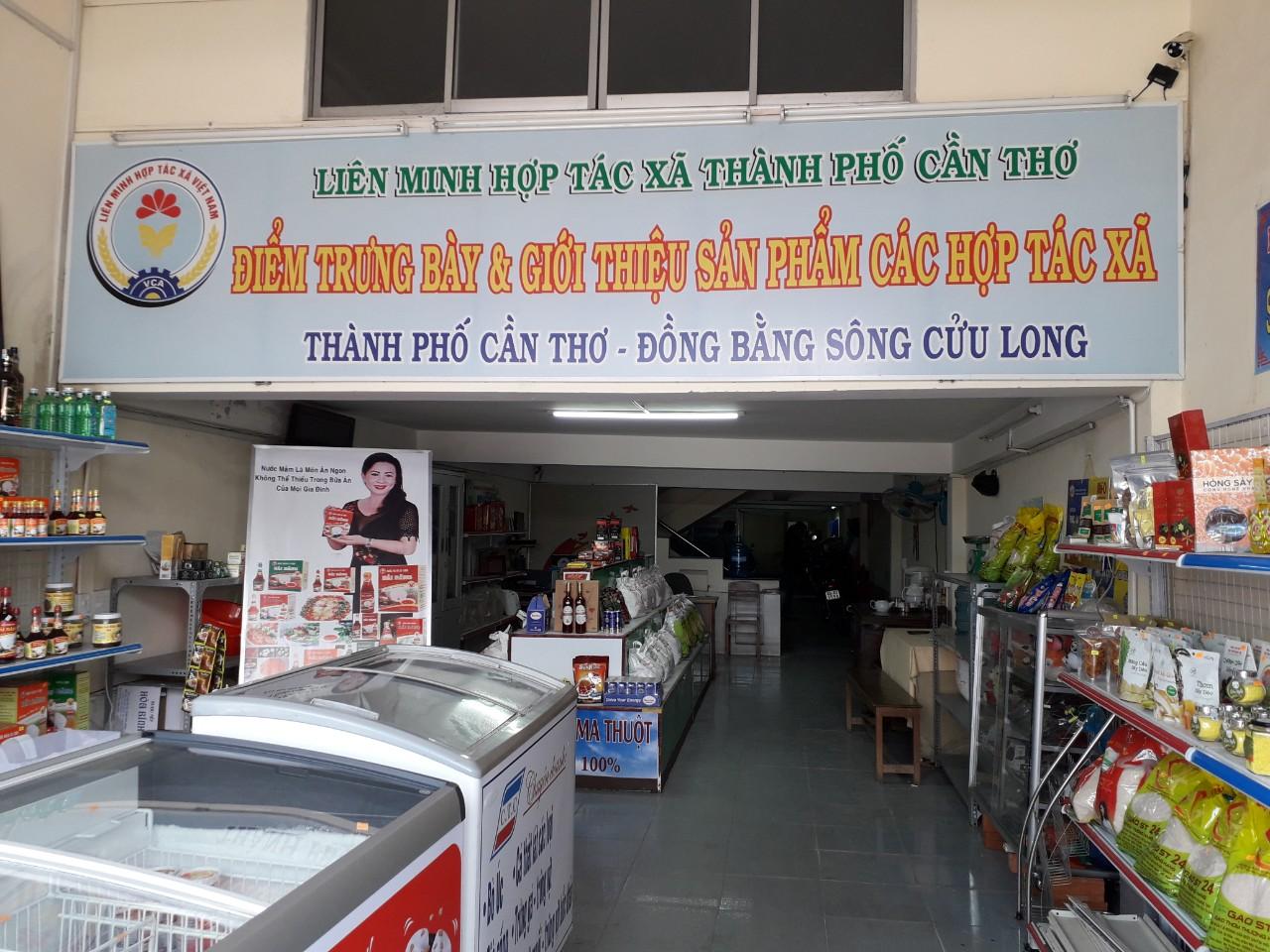 Cửa Hàng Trưng Bày & Giới Thiệu Sản Phẩm  - Liên Minh HTX Cần Thơ