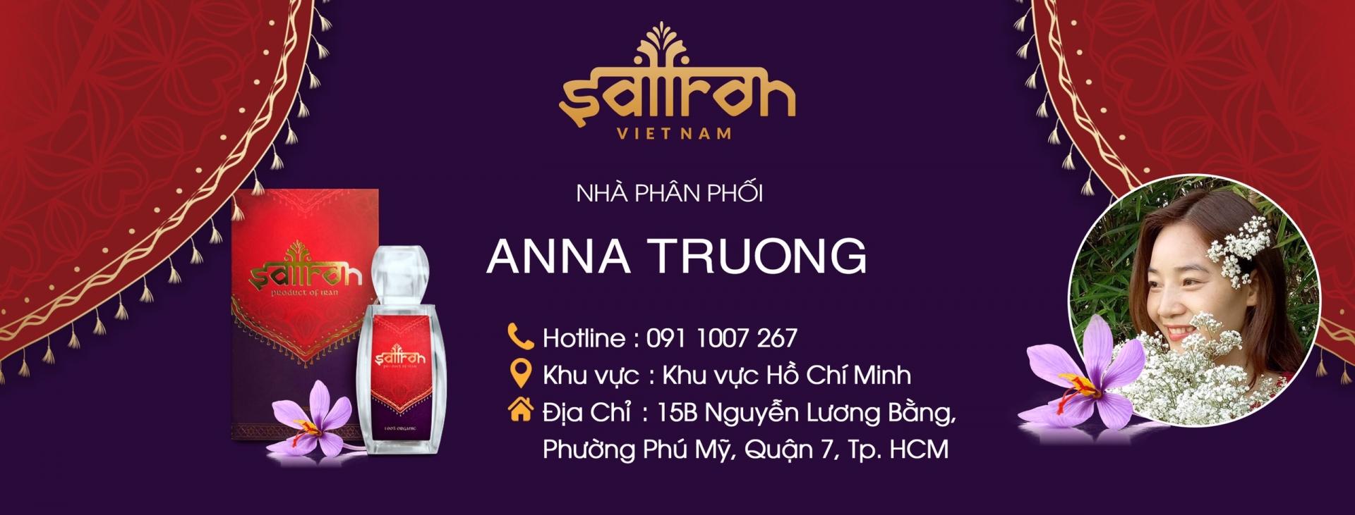 Ann Saffron - Đại Lý Saffron Việt Nam