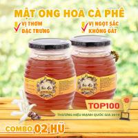Bộ 2 hũ Mật ong hoa cà phê Bảo Hân 500G vị thơm đặc trưng vị ngọt sắc mà không gắt giá sỉ, giá bán buôn