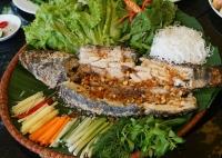 Cá Quả Nướng Muối