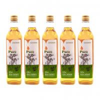 Combo 5 chai Dầu đậu nành nguyên chất 100% Puro 500ml