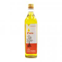 Dầu đậu phộng nguyên chất 100% Puro chai 500ml