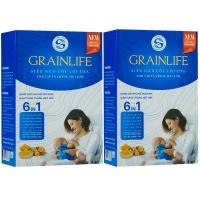Siêu ngũ cốc lợi sữa 6in1 Grainlife Long Liên 500gr bổ sung tinh nghệ